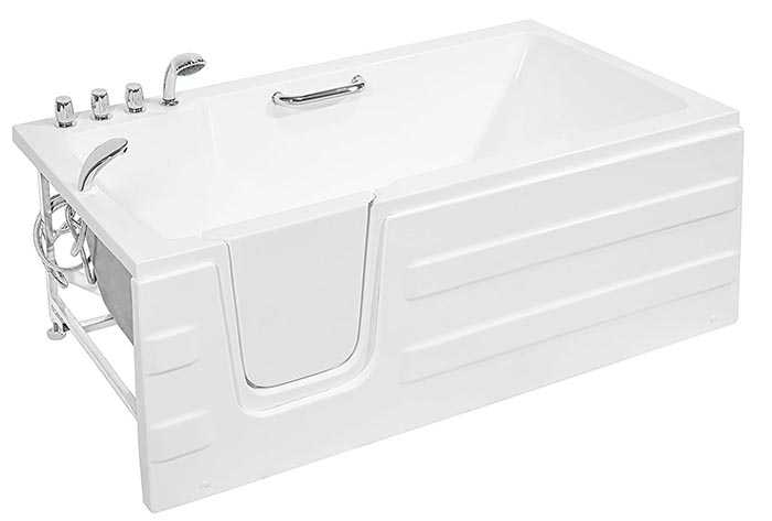 Simple Walk-In Bathtubs All-In-One Guide For 2018 [With Examples]