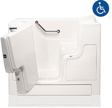 wheelchair accessible tub